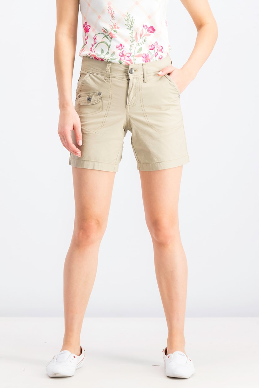 Women's Cargo Shorts, French Birch