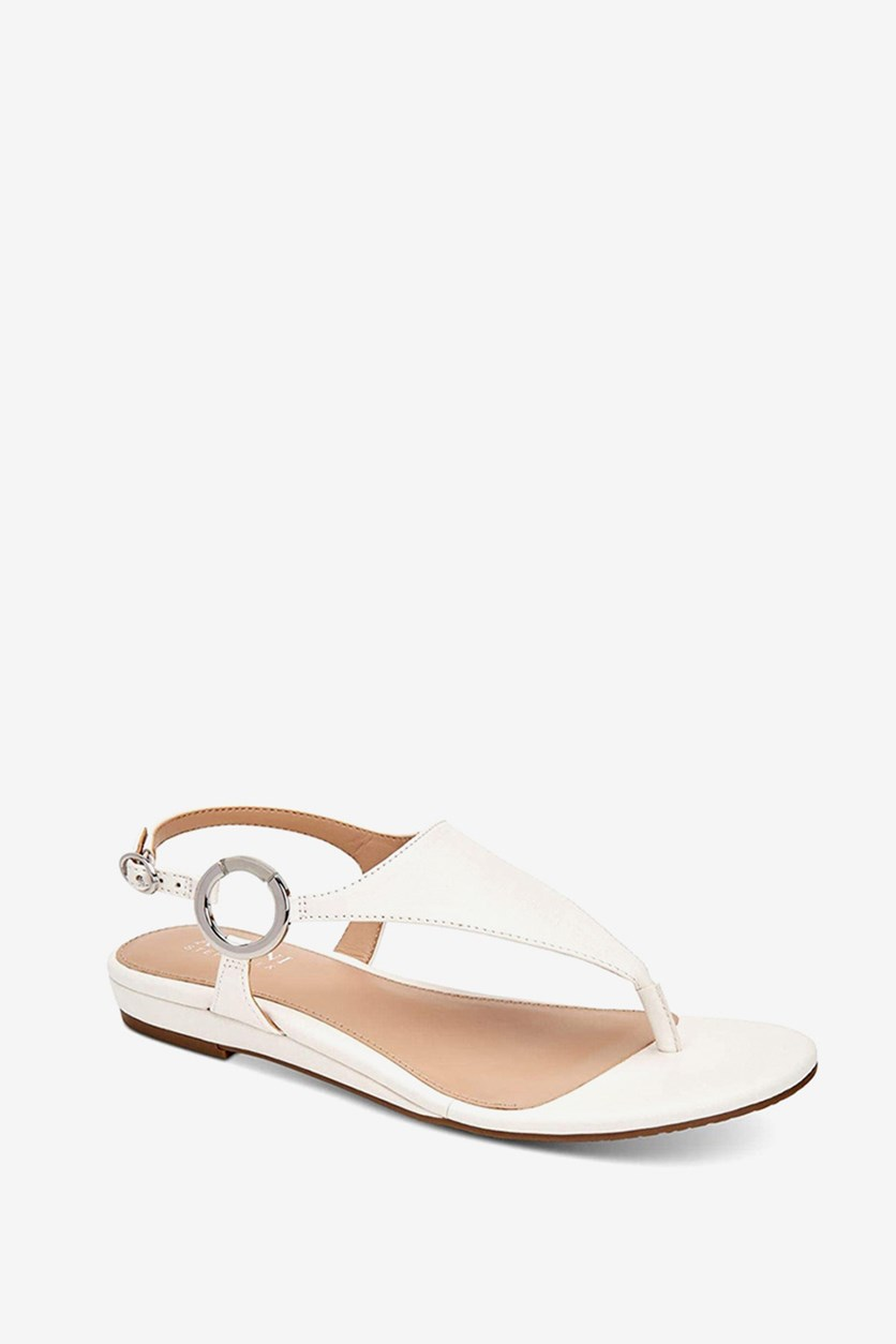 Womens Hayyden Slingback Sandals, White