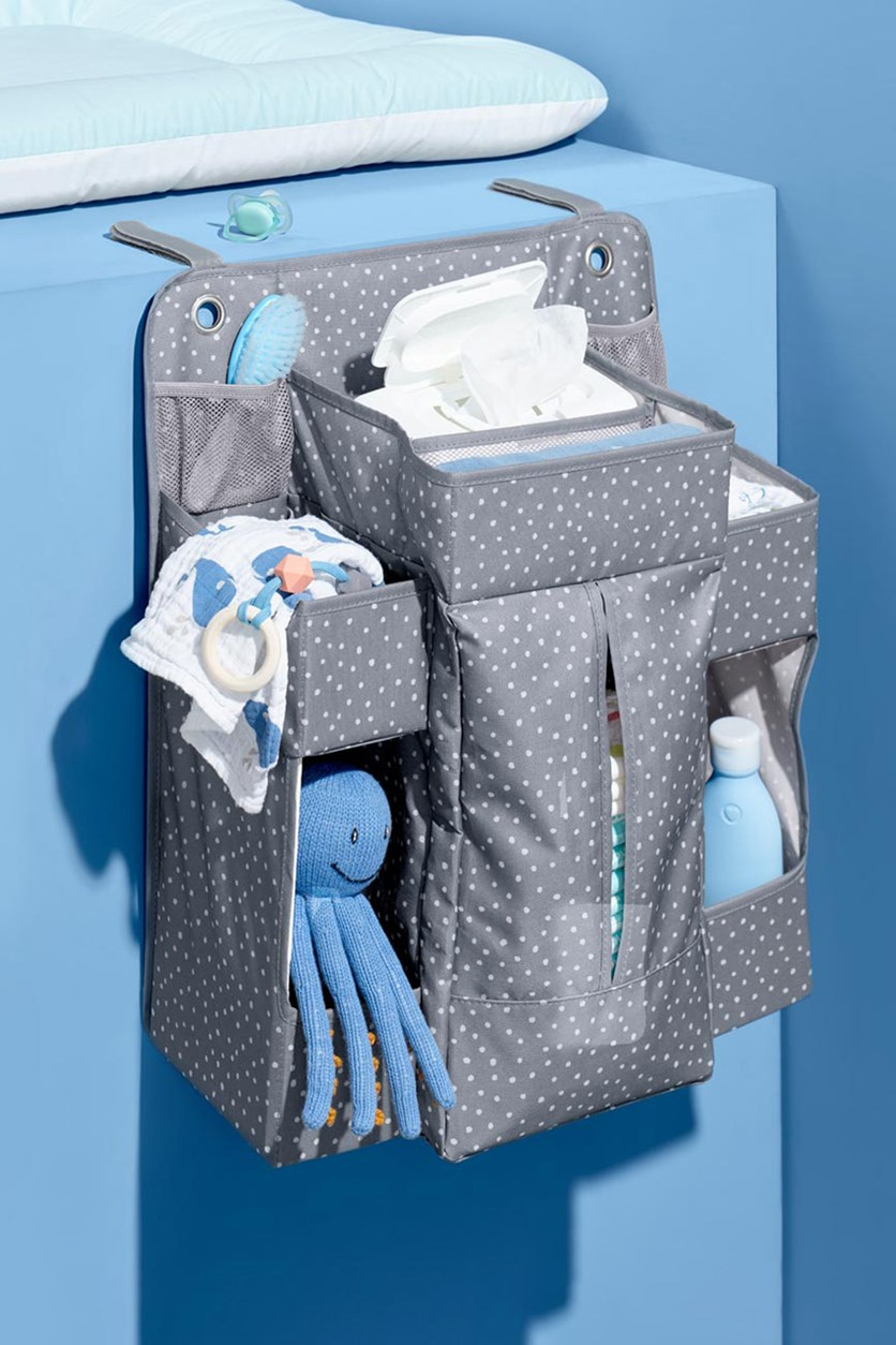 Changing Table Organizer, Gray
