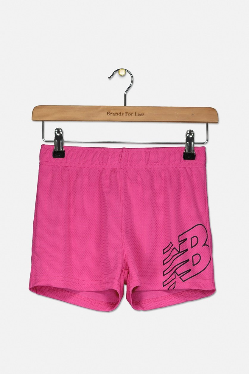 Toddlers Girls' Core Performance Short, Fuchsia Pink