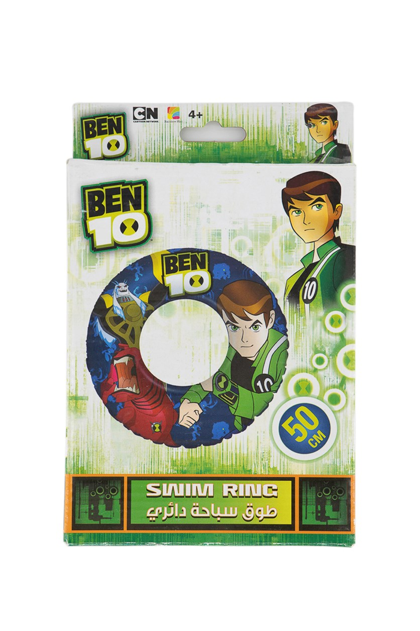 Swim Ring Ben 10 50 cm, Green
