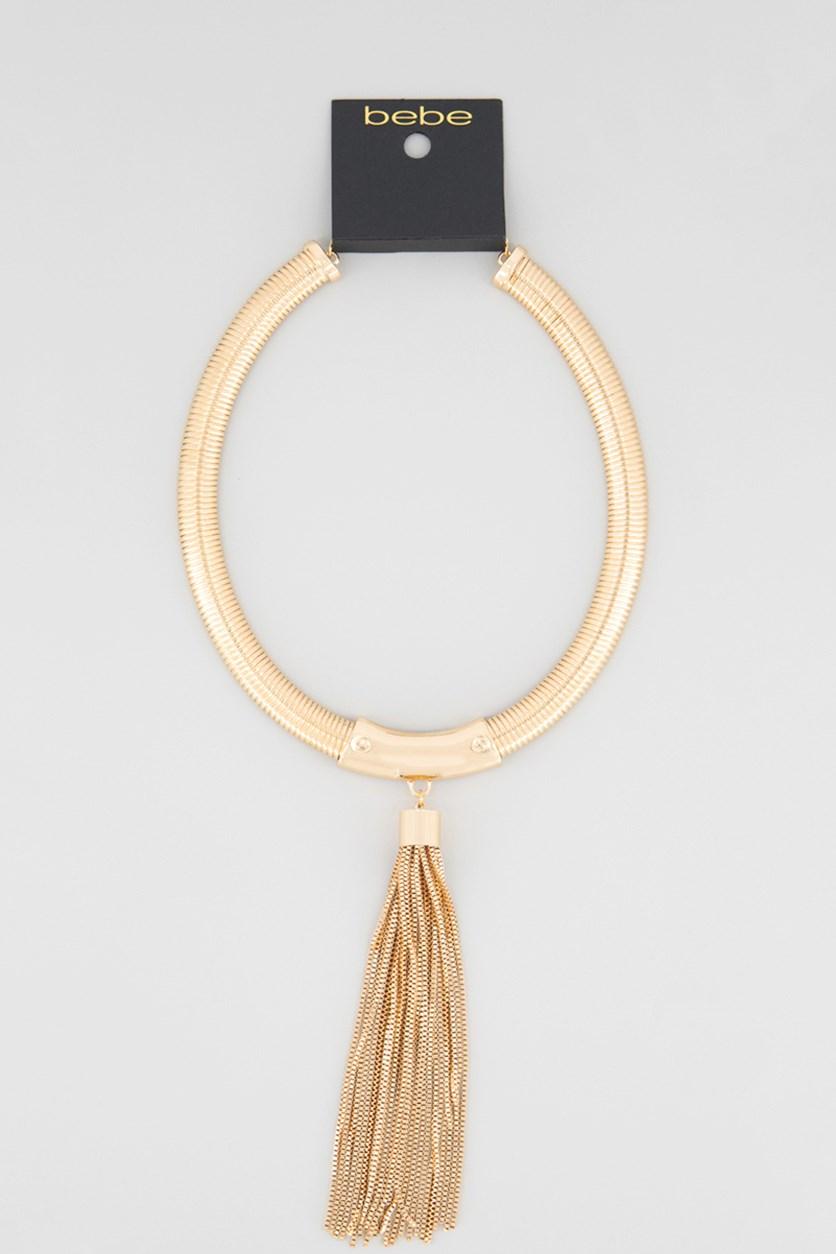 Women's Dangling Necklace, Gold Plated
