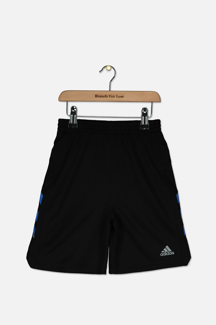 Toddler Boys Sport Shorts, Black/Blue
