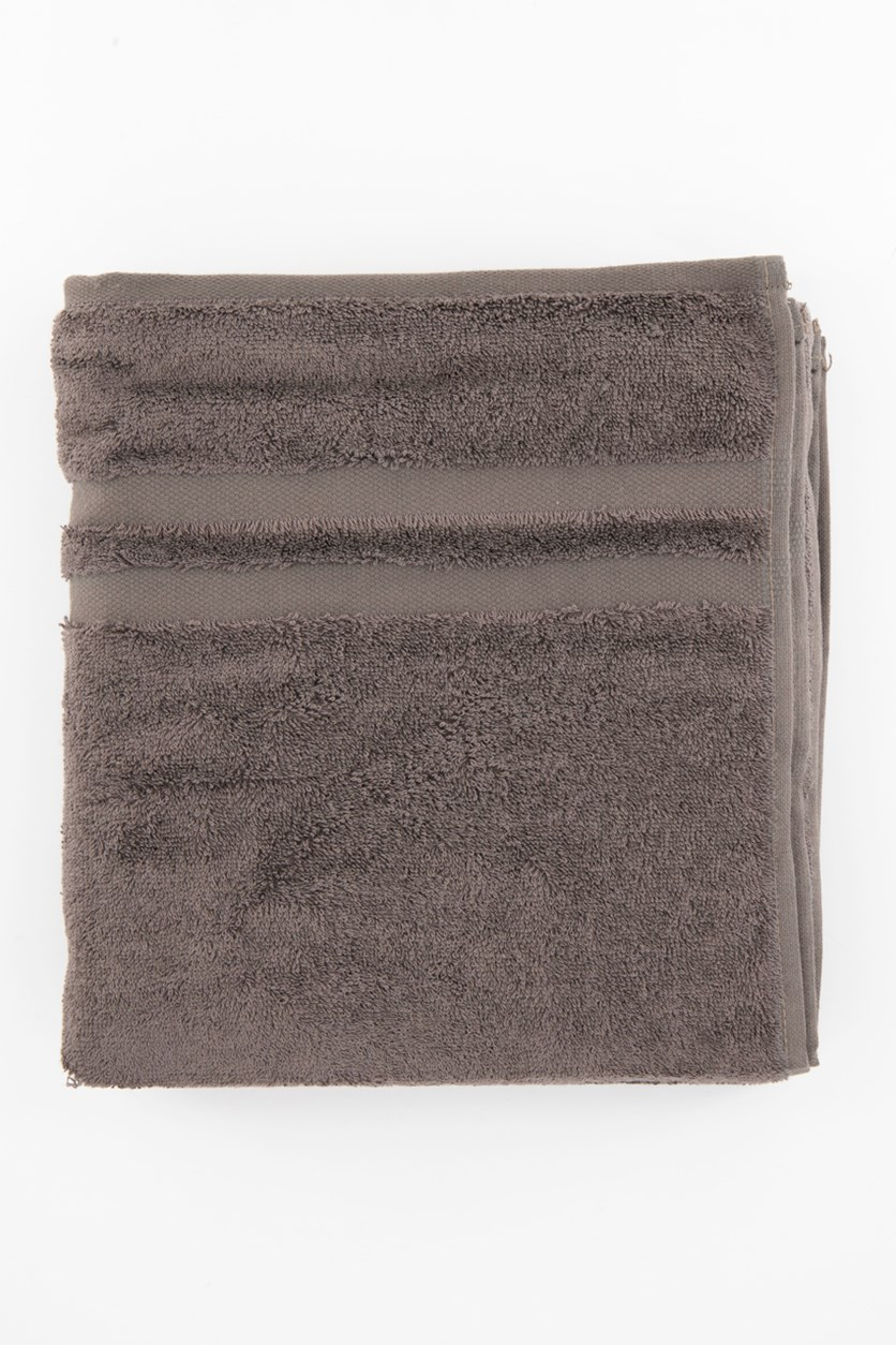 Set of 2 Hand Towel, Charcoal