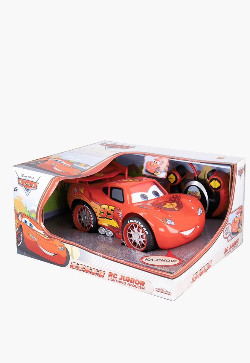 Smoby Majorette Mc Queen Rc Junior Toys, Red Combo