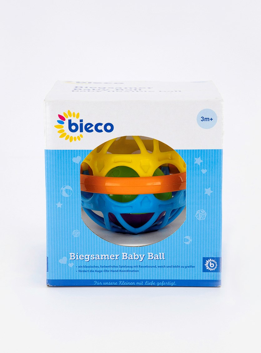 Colorful Baby Ball, Blue/Yellow