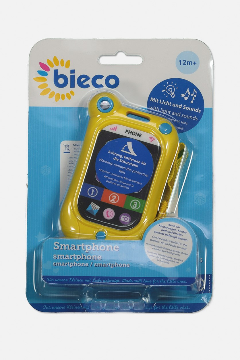 Baby Smartphone Light And Sound, Yellow