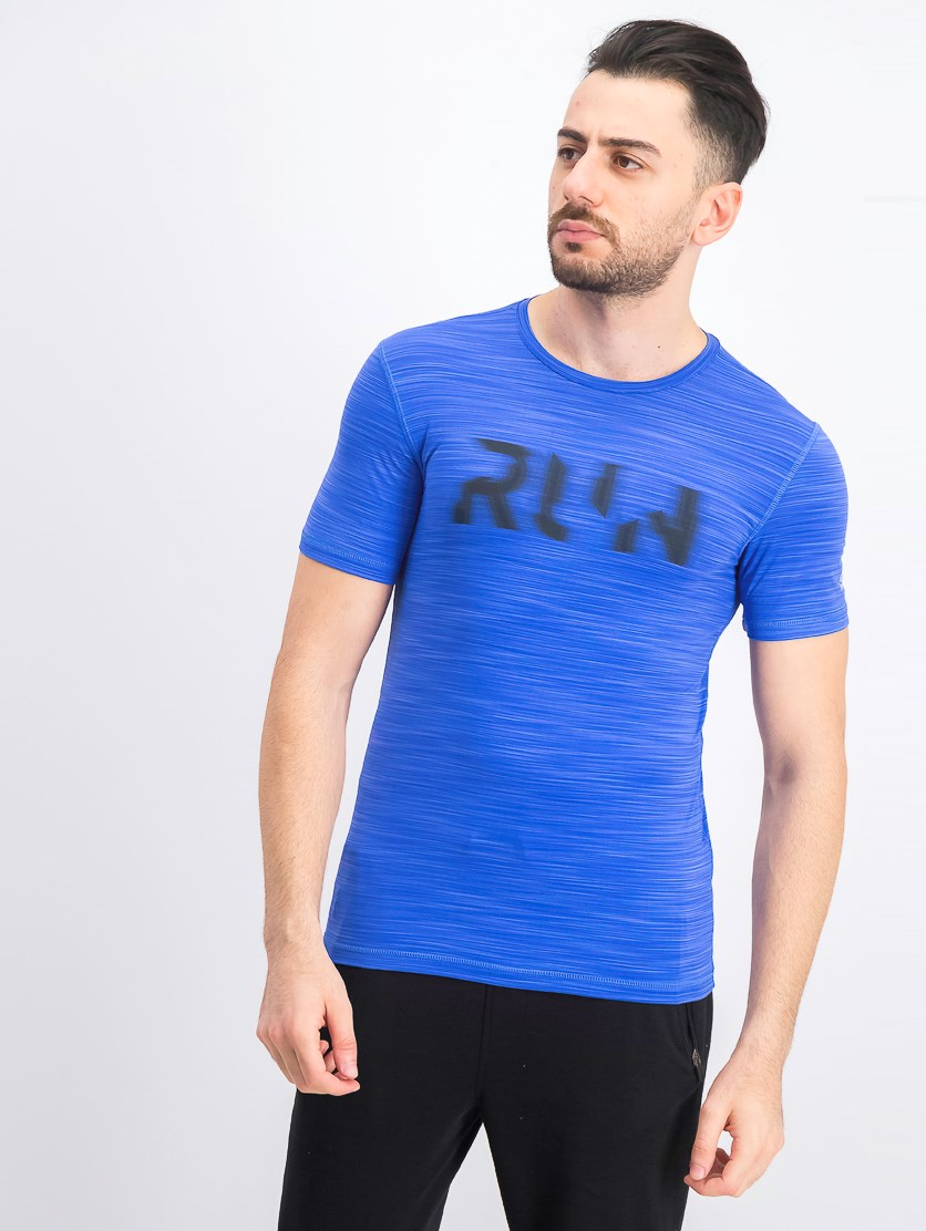 Men's Running Active Chill Shirt, Blue