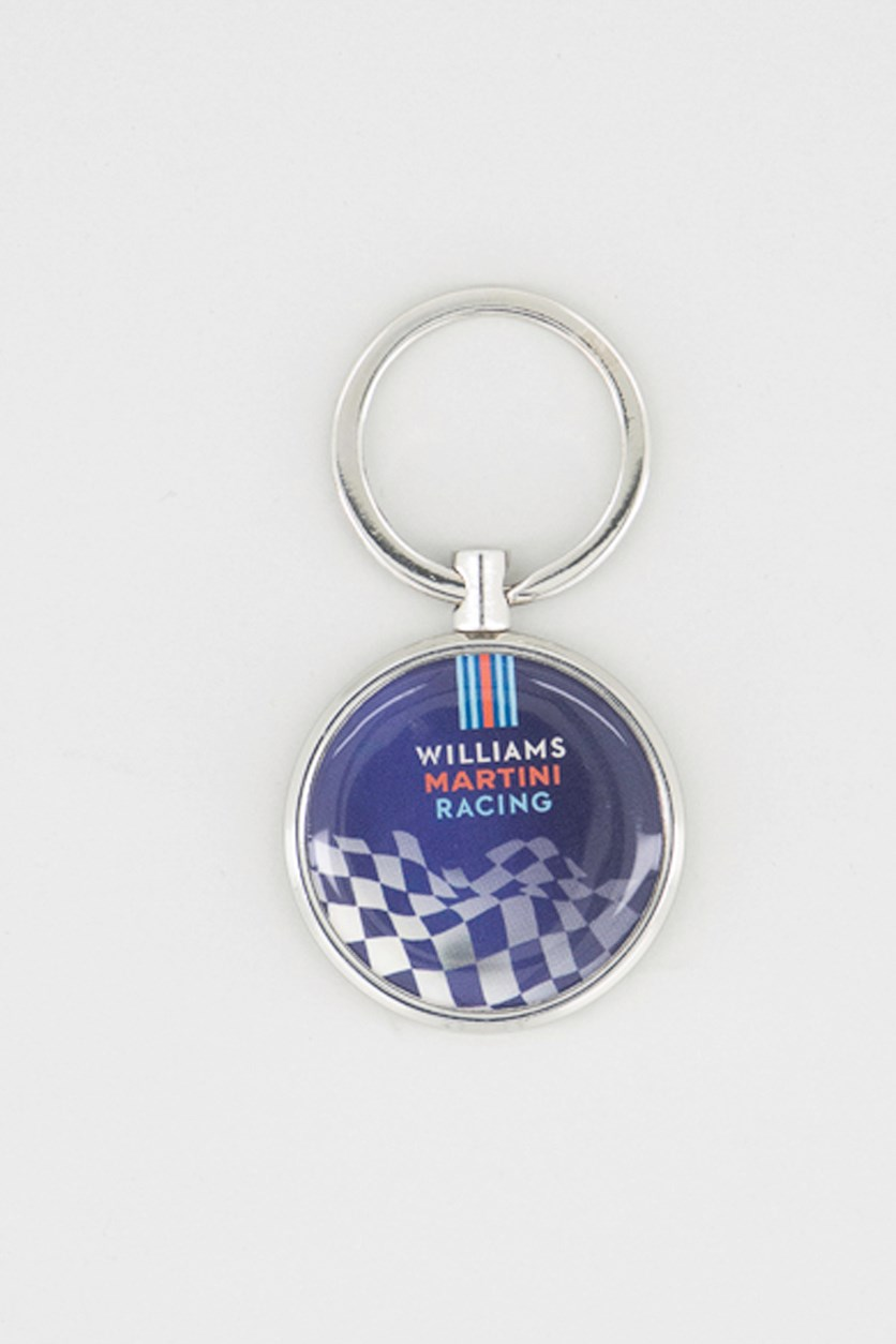 Williams Martini Racing Keychain, Blue