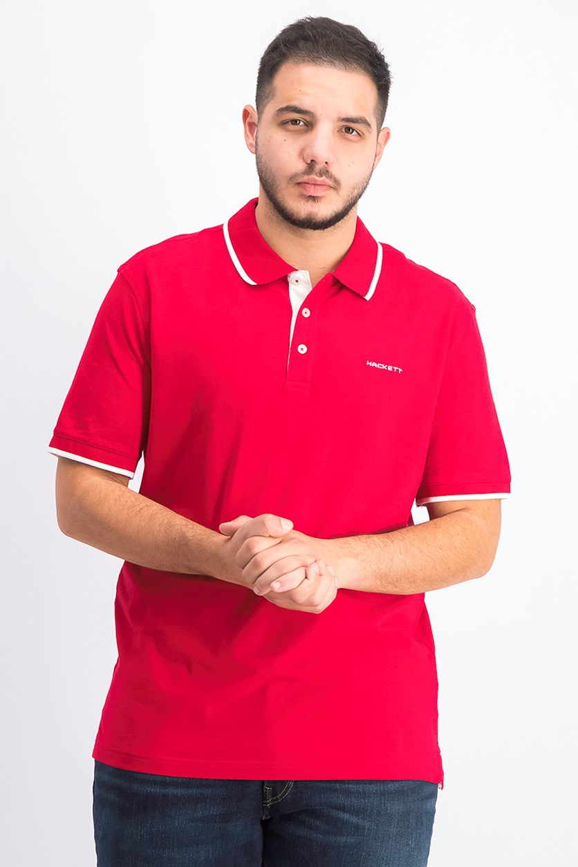 Men's Cotton Piquet Polo, Jester
