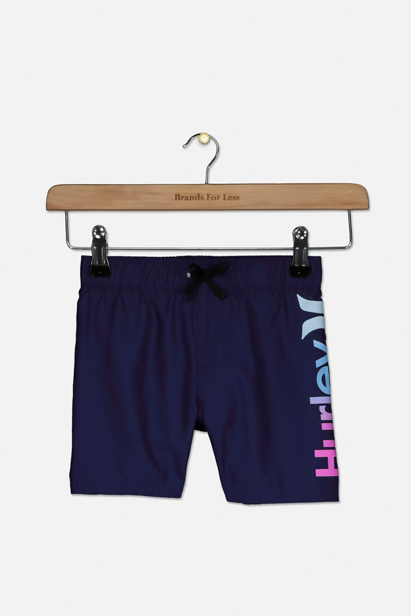 Toddler Boys One And Only Swim Trunks, Navy Blue