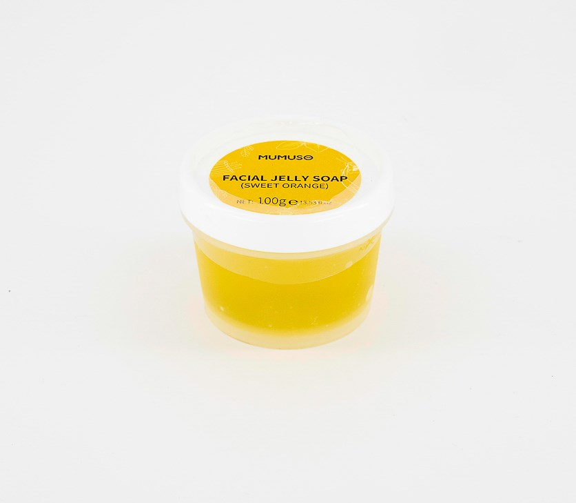 Facial Jelly Soap Sweet Orange, Yellow