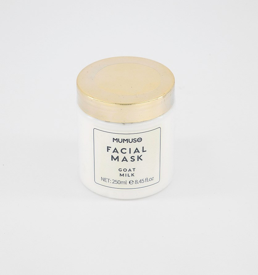 Luxh Facial Mask Goat Milk, White