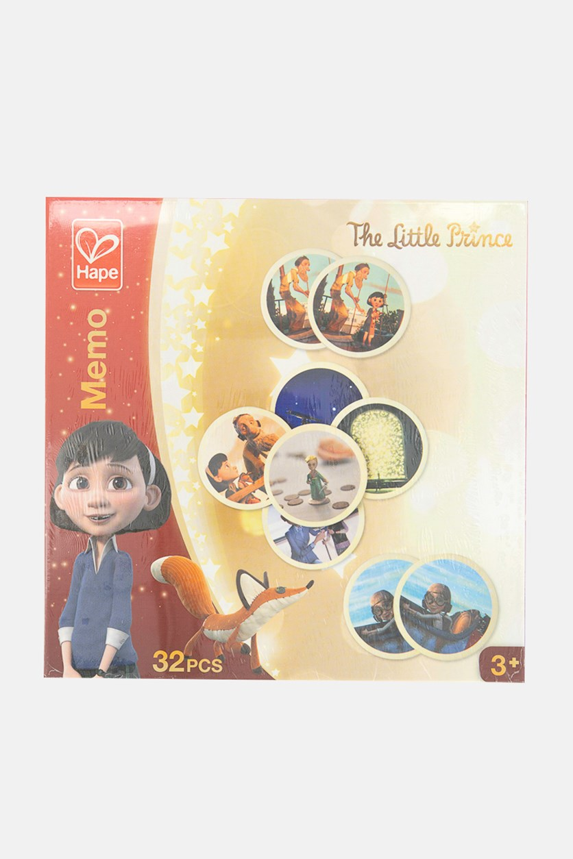 The Little Prince Memo Puzzle, Red/Beige