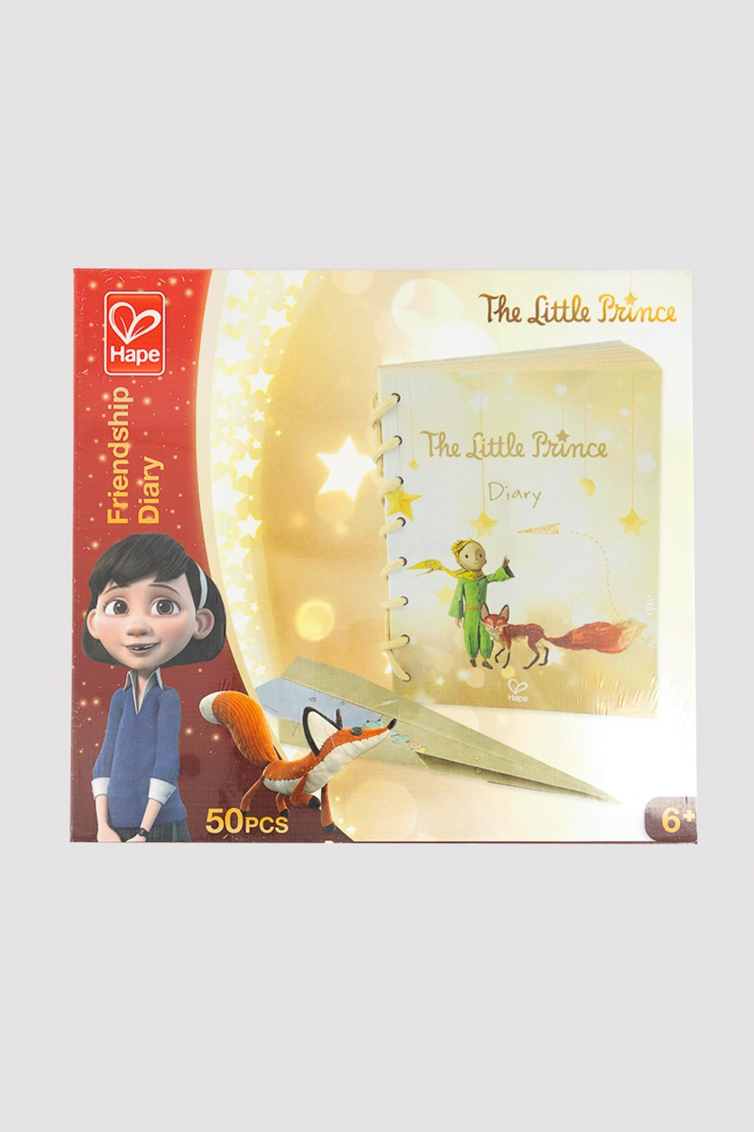 The Little Prince Friendship Diary Educational Toys, Light Brown