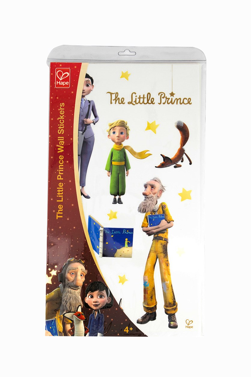 The Little Prince Discovery Sticker Walls, Red/White