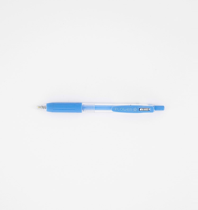 Retractable Highlighter, Blue