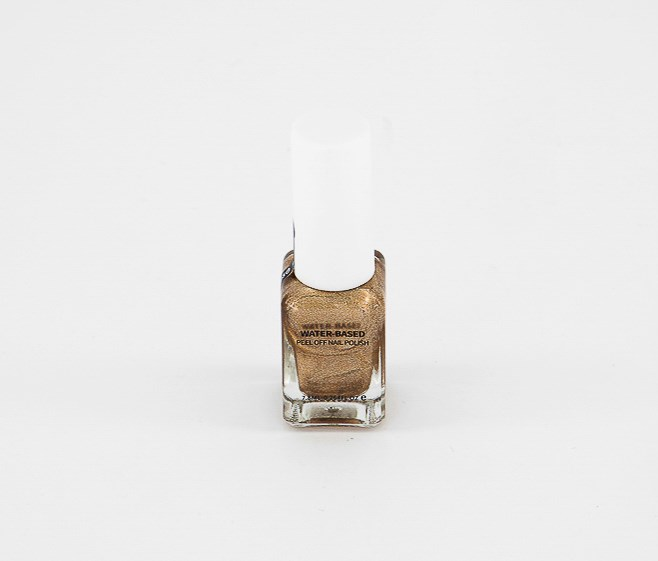 Water Base Peel Off Nail Polish,  #10 Glossy Gold