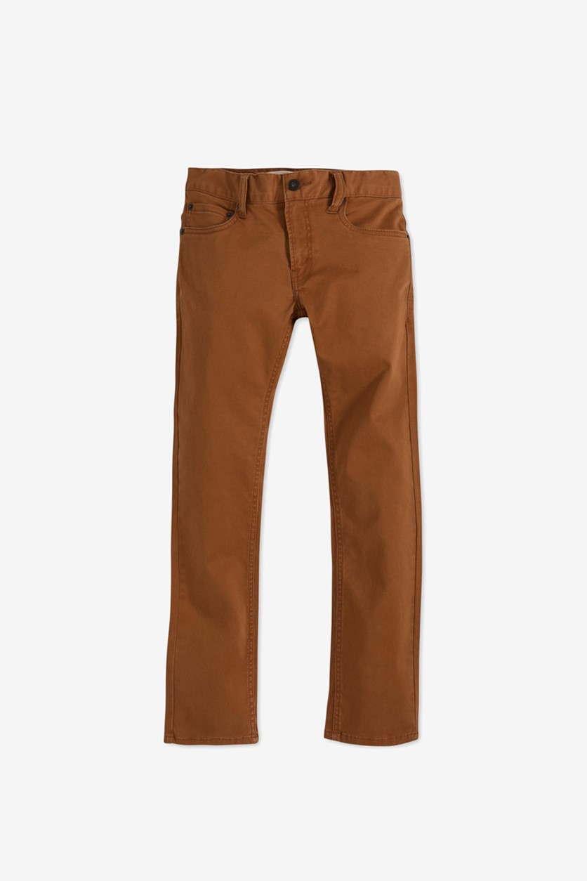 Little Boys' 511 Sueded Pants, Brown