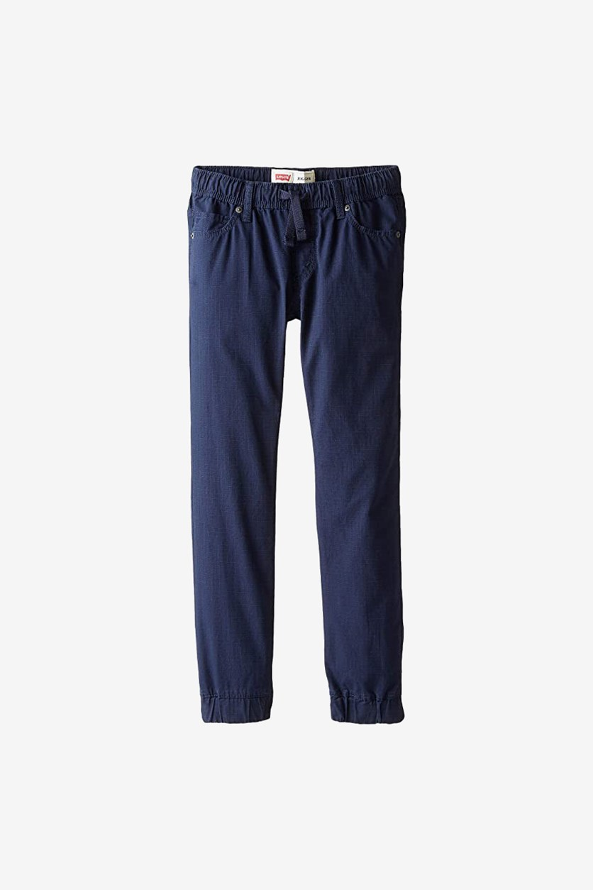 Little Boys' Ripstop Jogger Pants, Navy