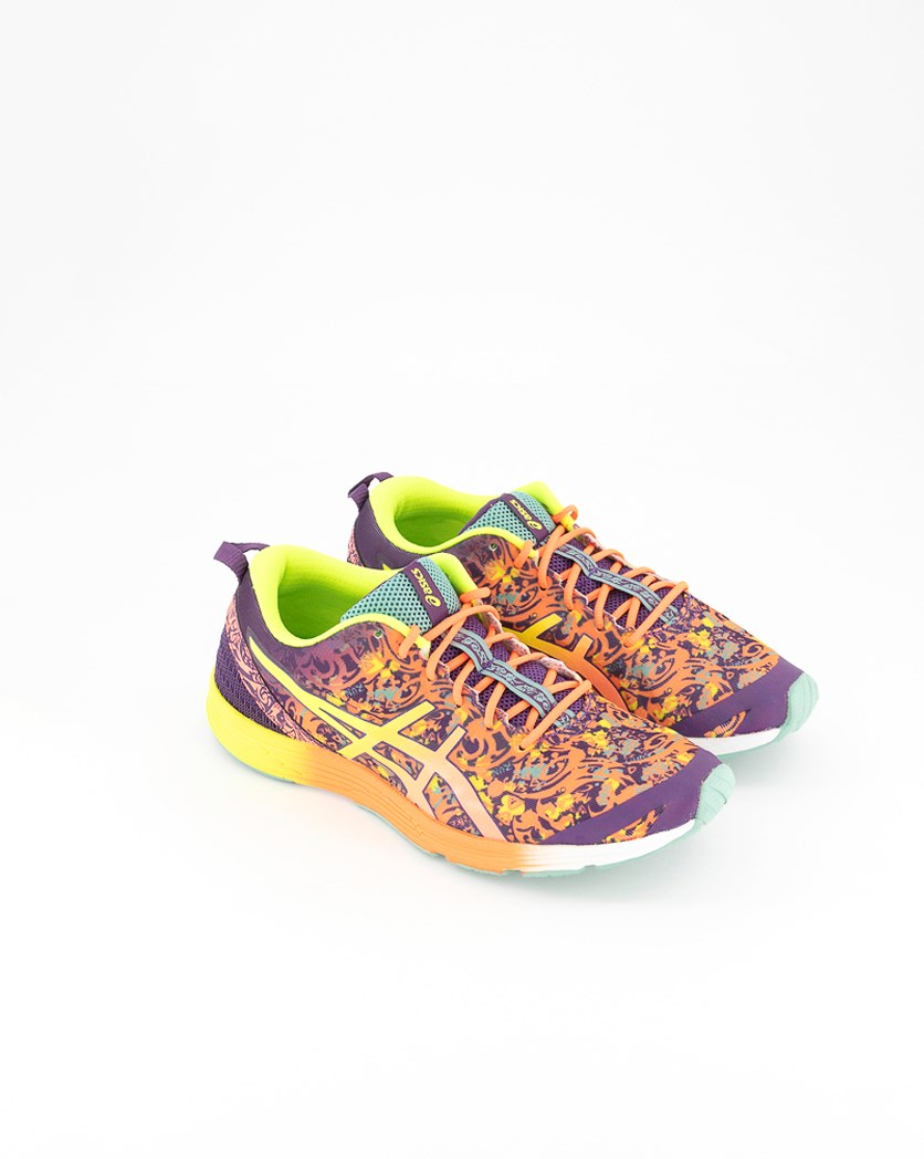 Mens Gel Hyper Tri 2 Training Shoes, Purple/Flash Coral/Flash Yellow