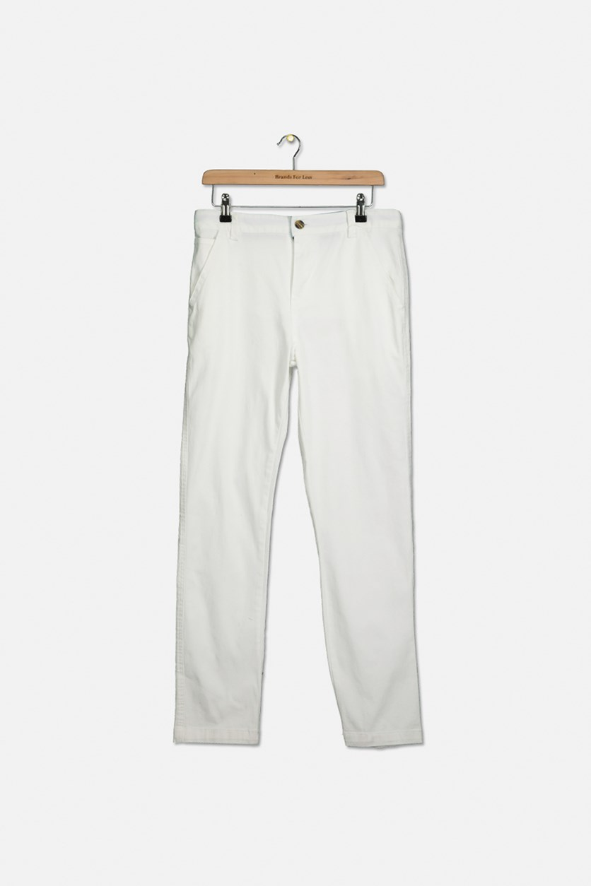 Big Boys Dagger Pants, White