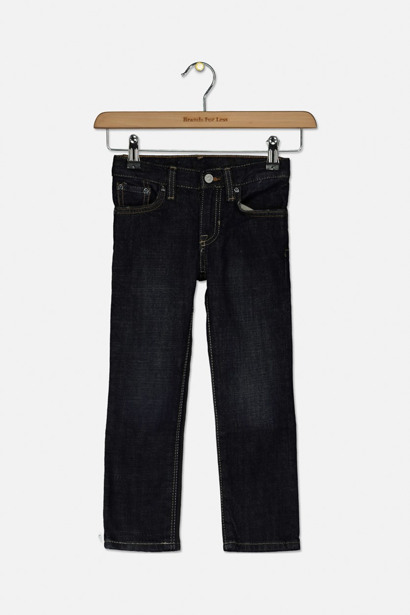 Toddlers Boys Jeans Lawrence, Bailer Wash
