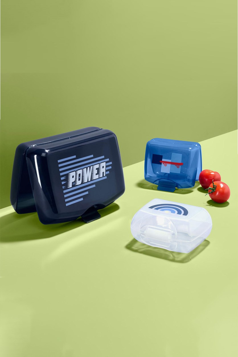 Boy's Lunch Box Set, Blue