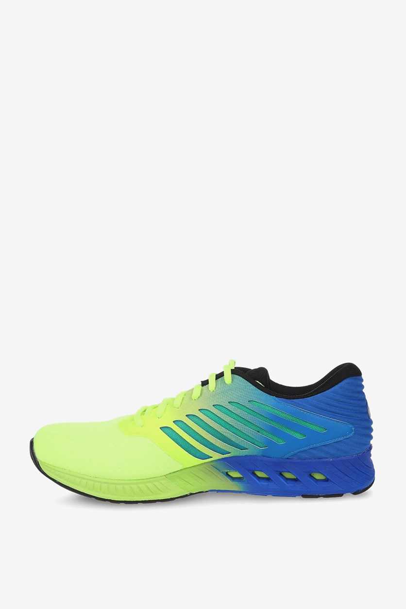 Men's Fuze Running Shoes, Yellow/Blue
