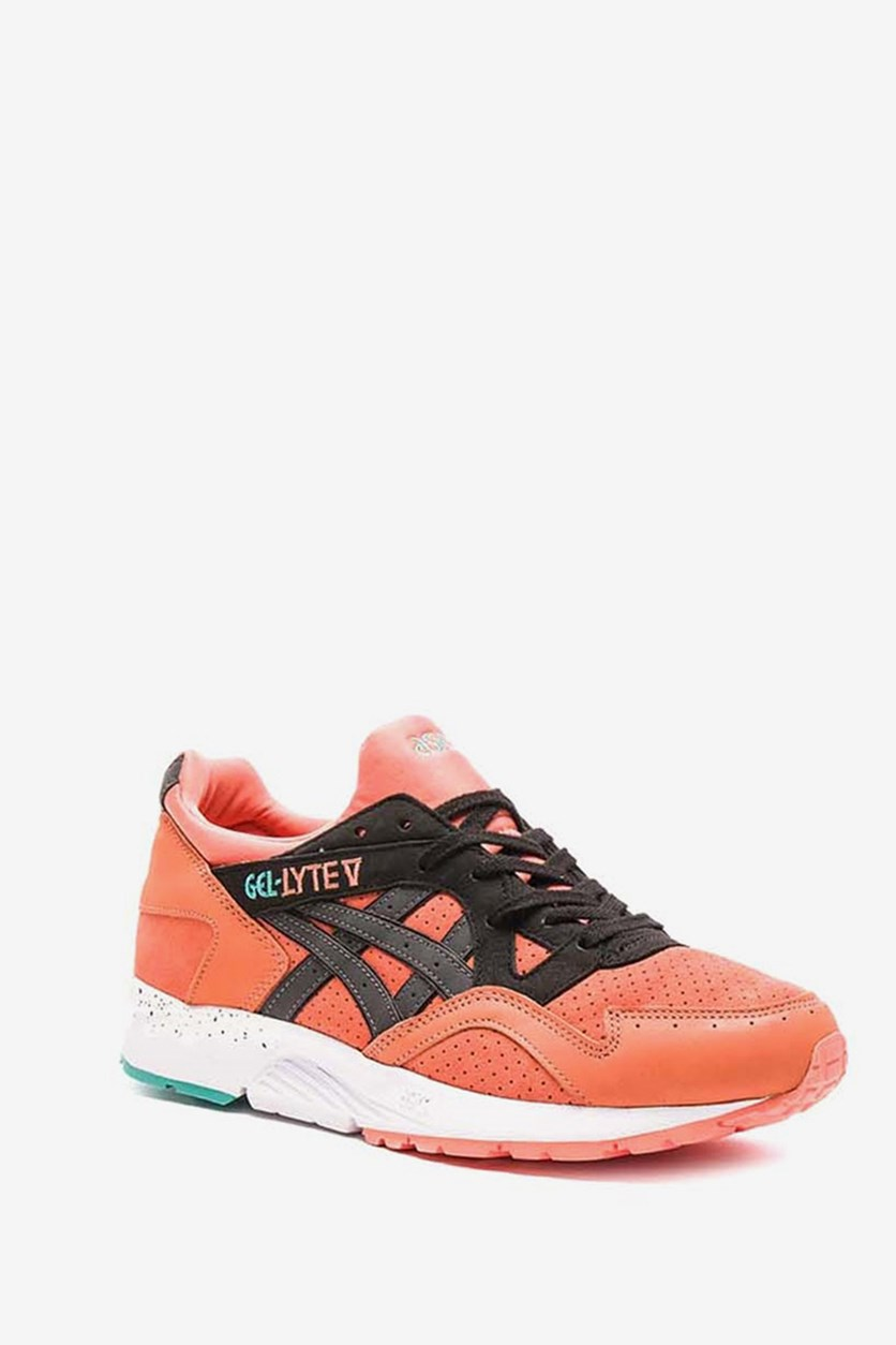 Men's Gel Lyte Casual Shoes, Coral/Black