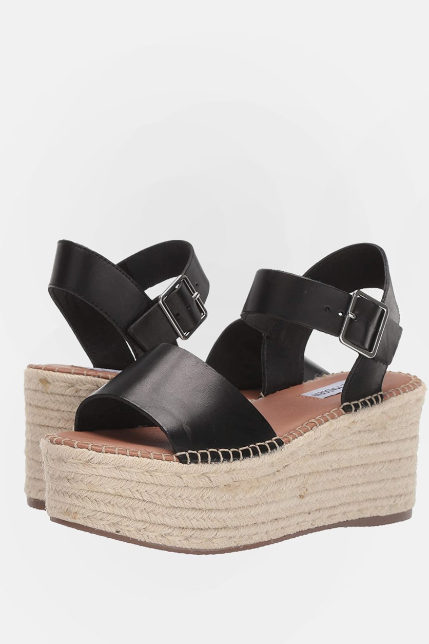 Women's Cabo Wedge Sandals, Black
