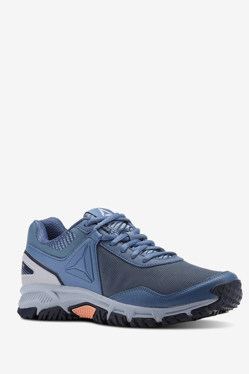 Women's Lace Up Running Shoes, Blue/Gray/Navy/Pink