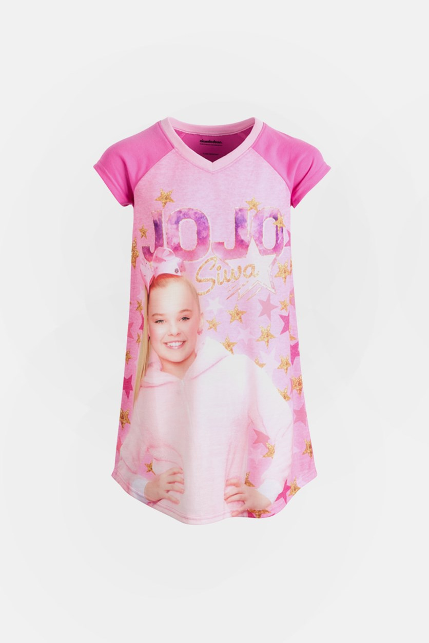 Kids Girls JoJo Siwa Nightgown, Pink