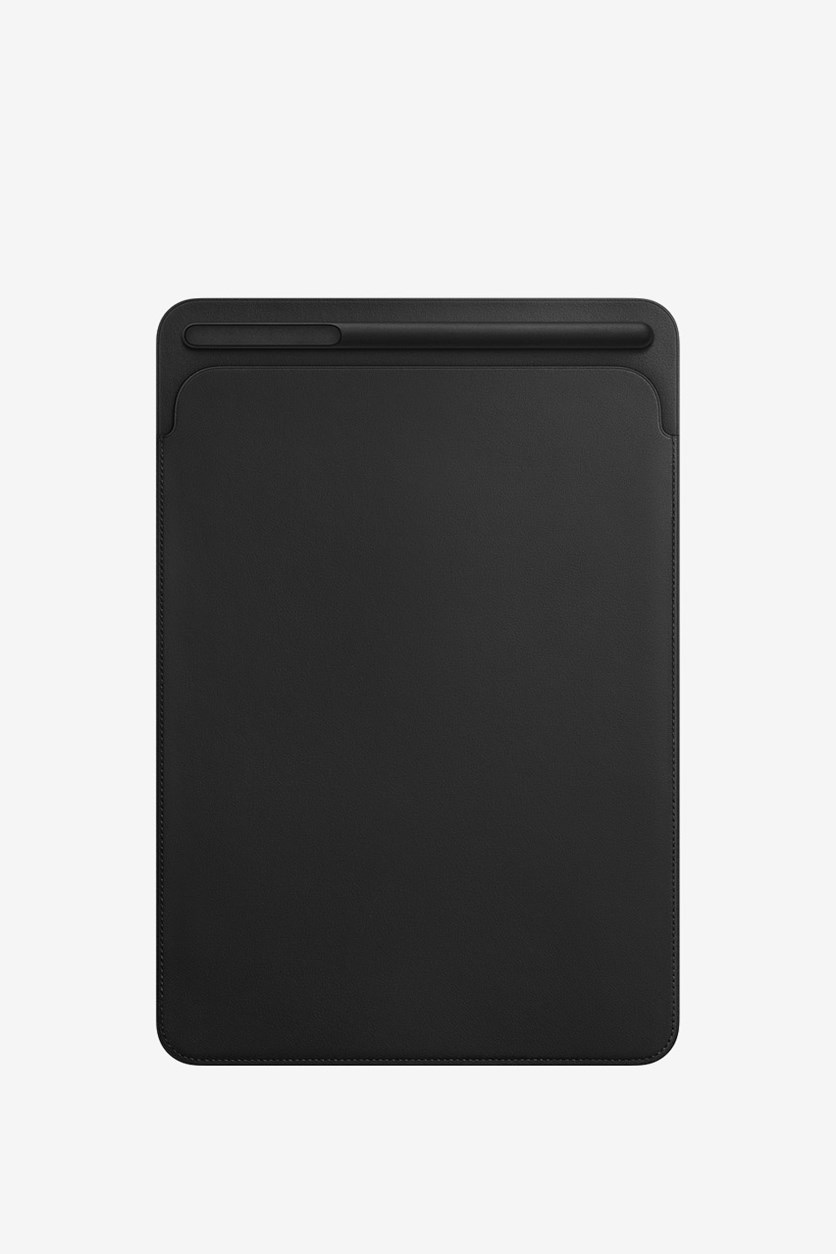 IPad Pro 12.9 Inch Leather Sleeve, Black