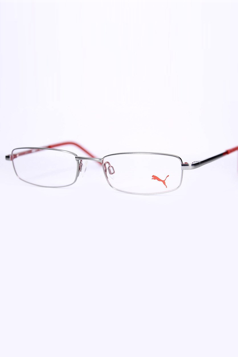 Kid's Girls PU15382 Full Rim Eyeglasses Frame, Red