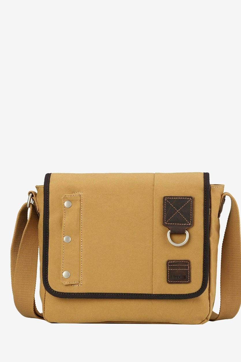Heritage Washed Canvas Across Body Bag, Mustard