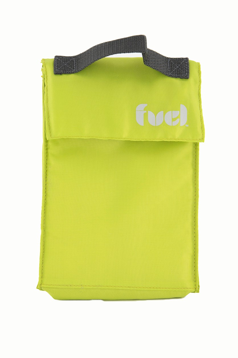 Triangle Lunch Bag, Lime Green
