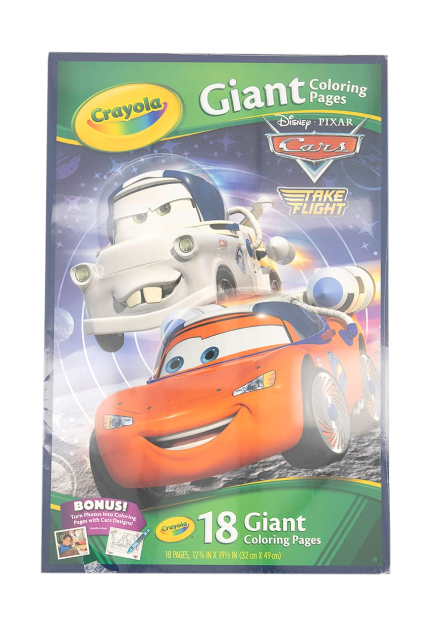 Crayola Giant Color Pages, Gree/Red/White