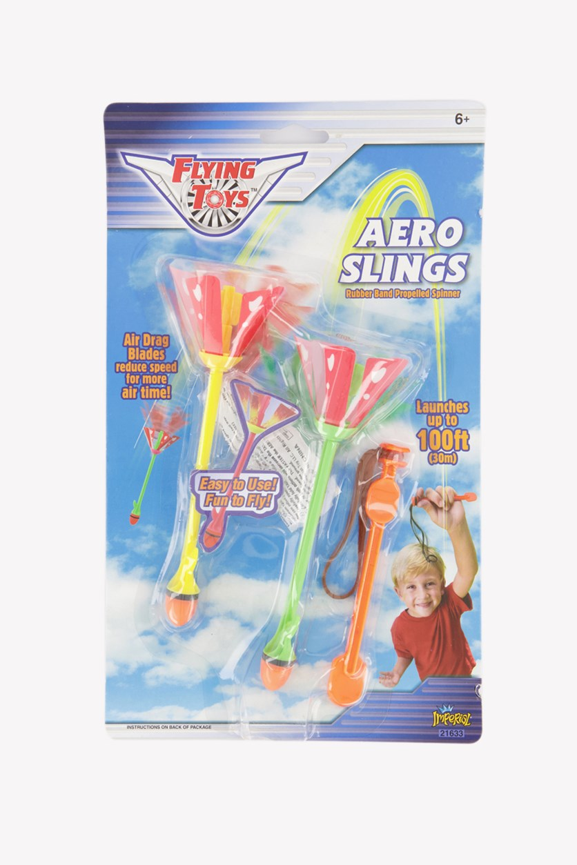 Imperial Flying Toys Aero Slings, Green/Yellow Combo