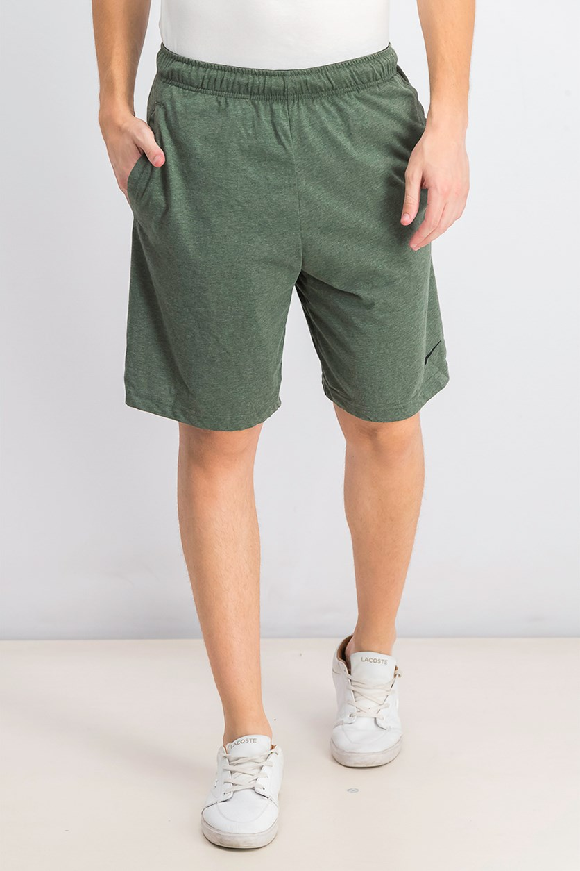 Men's Dri-fit Cotton Jersey Training Shorts, Mineral Spruce