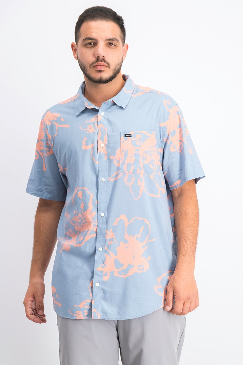 Men's Sage Vaughn Flora Graphic Shirt, Blue