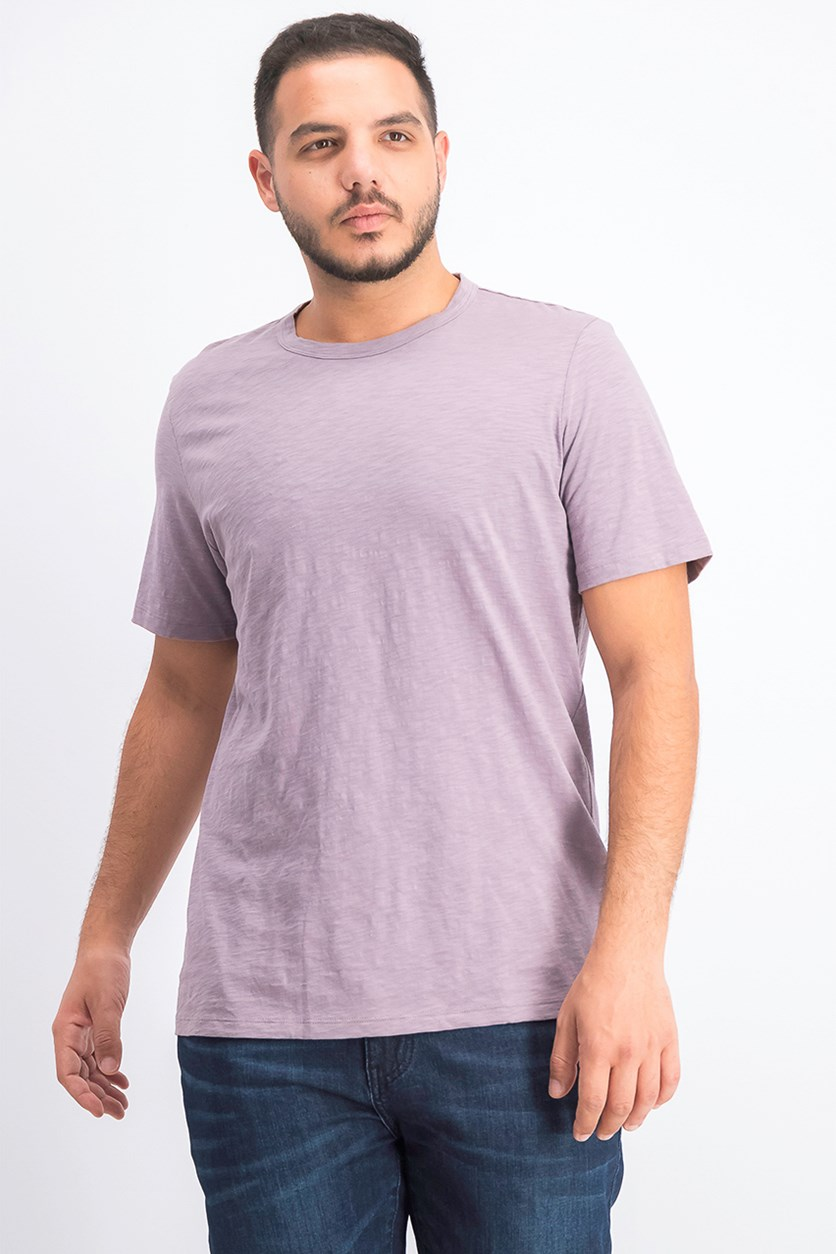Men's Crewneck Short Sleeve Tee, Amethyst