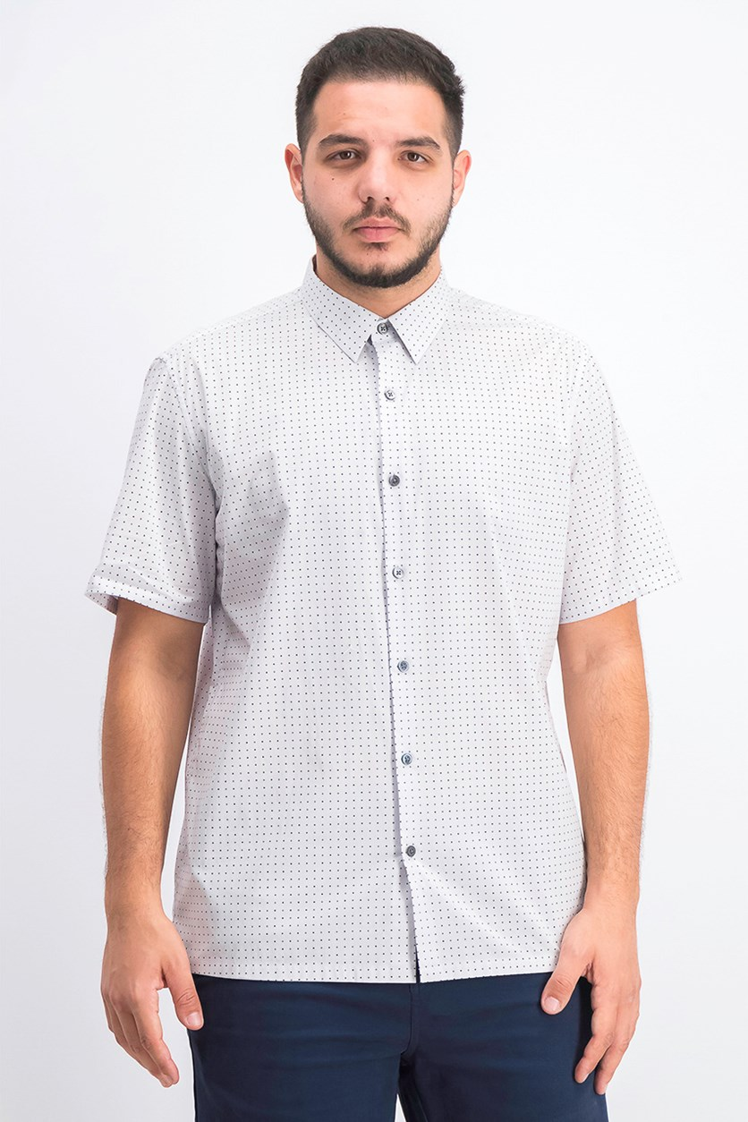 Men's Irving Sphere Shirt, Light Grey