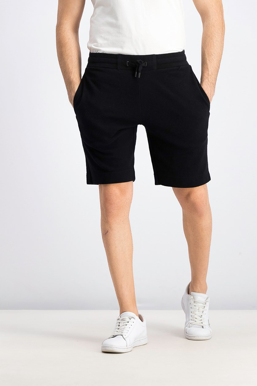 Men's Relax Sweat Short, Black
