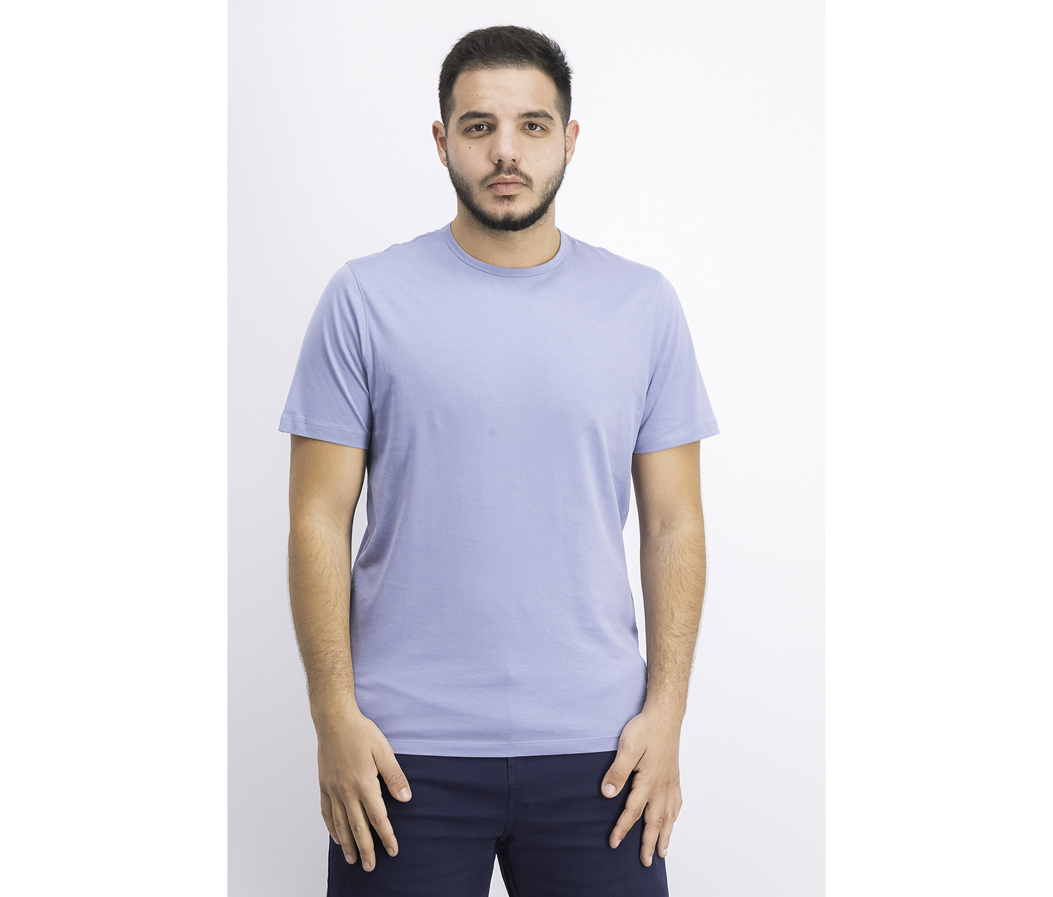 Men's Precise Crewneck Tee, Wave