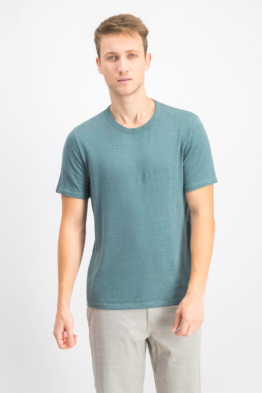 Men's Crewneck Short Sleeve Tee, Aloe