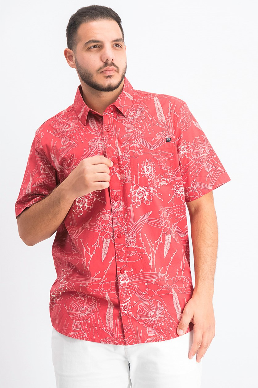 Men's Death Valley Graphic Shirt, Rio Red