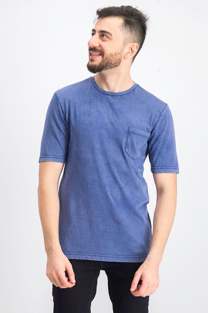 Men's Garment Dyed Pocket T-Shirt, Twilight