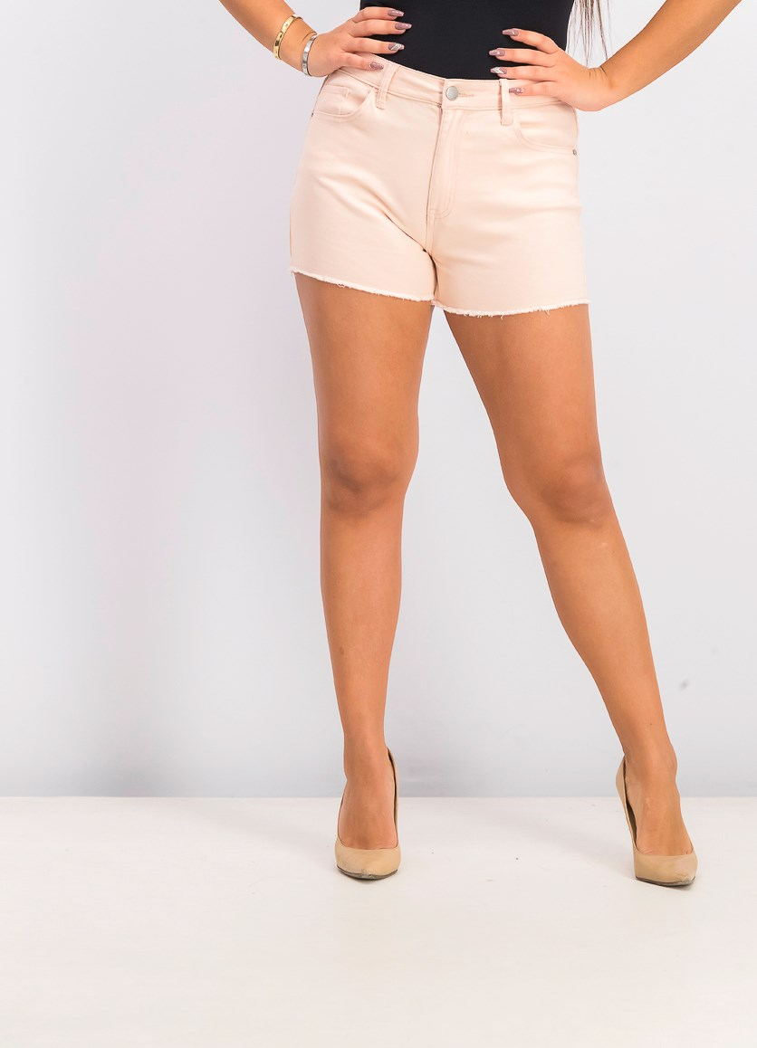 Women's High Rise Short, Cameo Pink