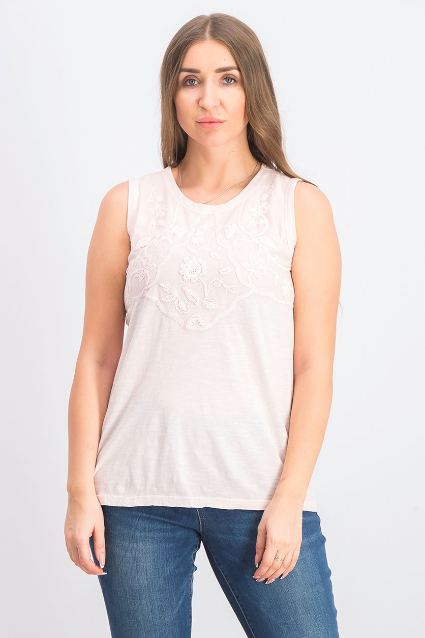 Women's Sleeveless Top, Pink